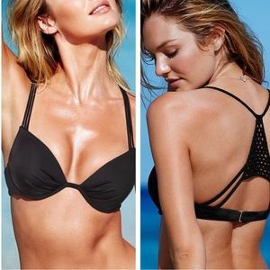Victoria's Secret Strappy Macrame Push Up Bikini🌟